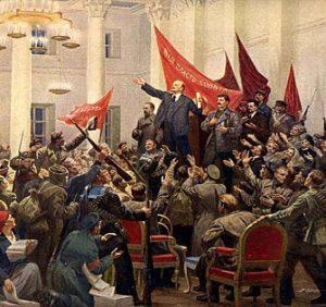 Политическая психология — Октябрьская революция